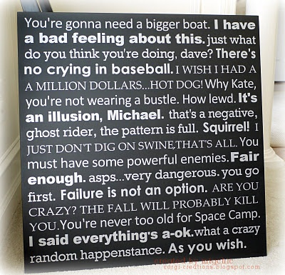 FINALLY!  a way to keep all of my movie quotes.  looove this.