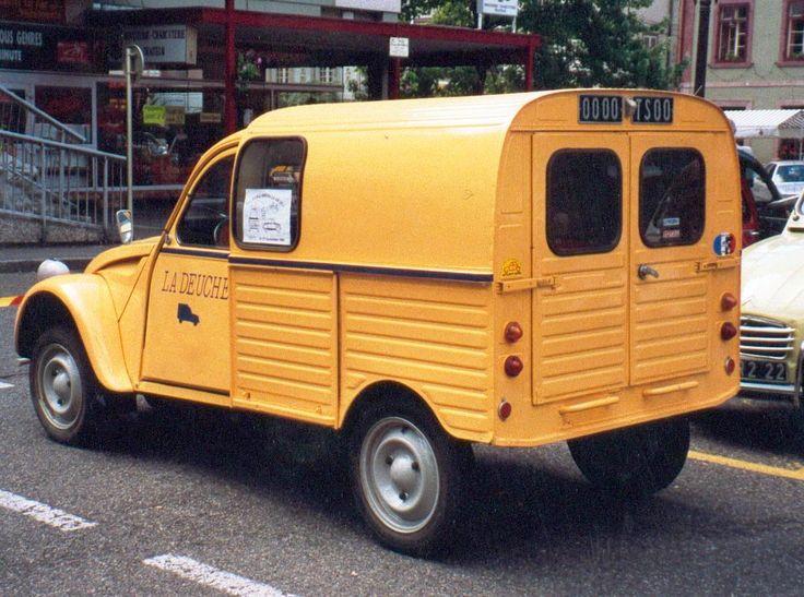 Citroën_2CV_fourgonnette La poste
