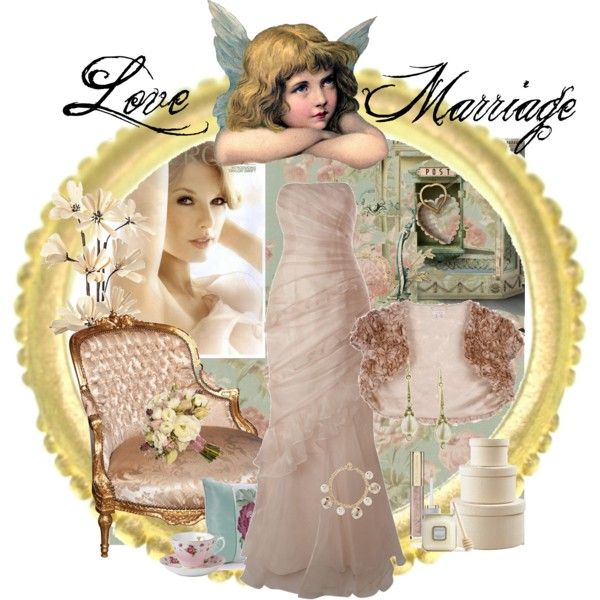 Love Marriage, created by dea-afrodite on Polyvore