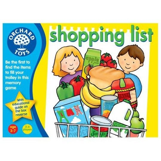 Orchard Toys Game Shopping List Packaging My child will love this game. #EntropyWishlist #Pintowin