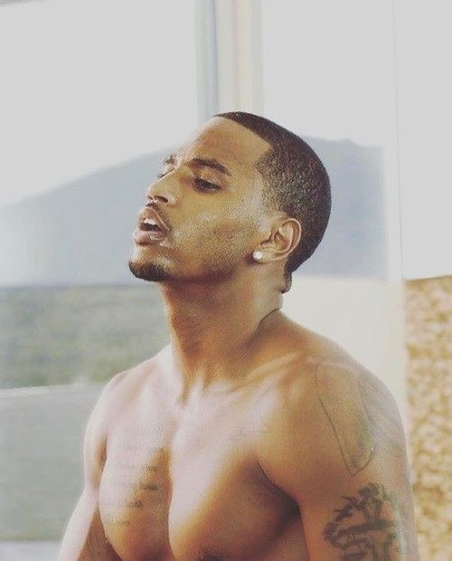 attractive, men, and trey songz image