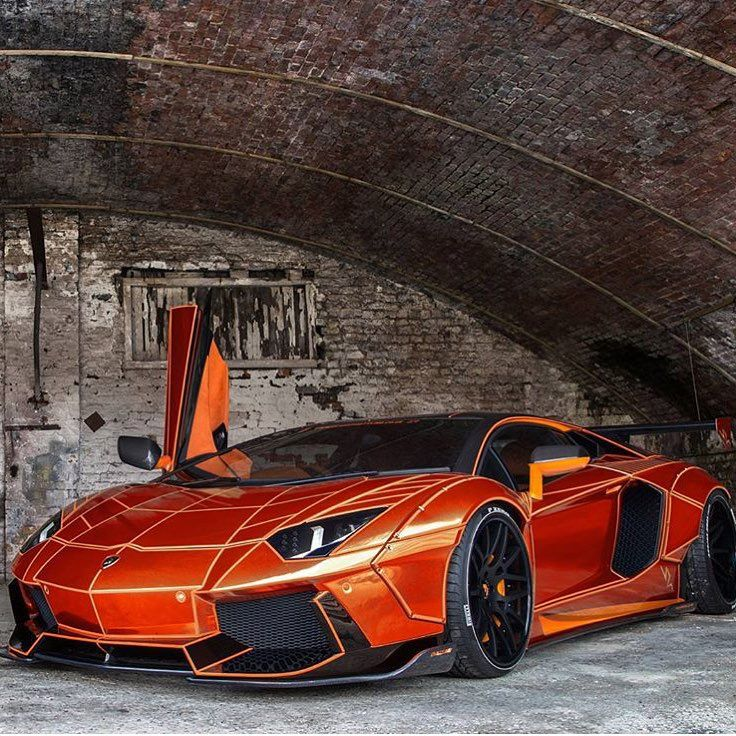 "Lamborghini Sport: Lamborghini On Instagram: ""Orange Copper Chrome Aventador"