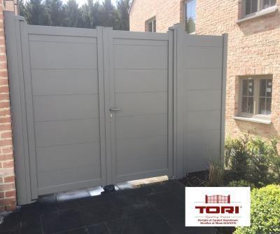 Carport aluminium et portail aluminium   TORI Portails