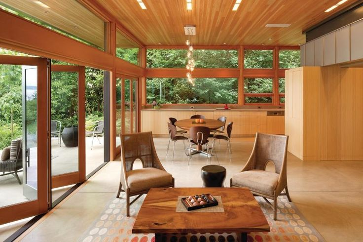 Case Study: Integrated Team Guides Bainbridge Island Home to LEED-Platinum | Custom Home Magazine | LEED, Green Building, Solar Power, Solar Heating, Net-Zero Energy, Green Design, Renewable Energy, Sustainable Materials, Post-Occupancy Performance, Interiors, Interior Design, Photovoltaics, Residential Projects, Design-Build, Green Standards, Water Conservation, Seattle-Tacoma-Bellevue, WA, Olympia, WA, Rich Binsacca, LEED for Homes, USGBC, Washington