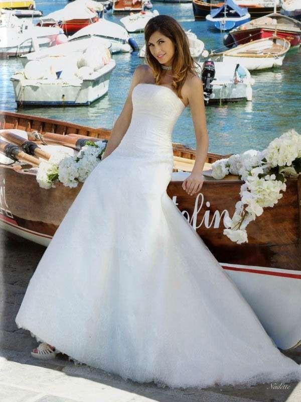 Melissa #Satta posa a Portofino per abiti da sposa Nicole Spose collezione 2013 #fashion #portofino #celebrity #wedding #liguria #inspiration
