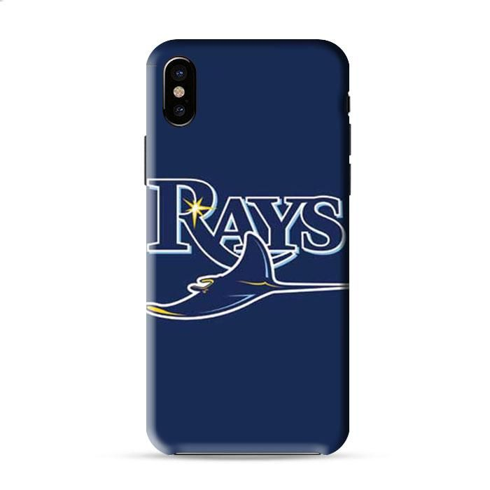 Tampa Bay Rays Logo On Blue Iphone X 3D Case Caseperson