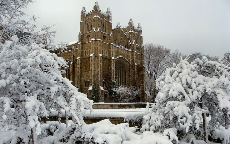 University of Michigan in Winter.