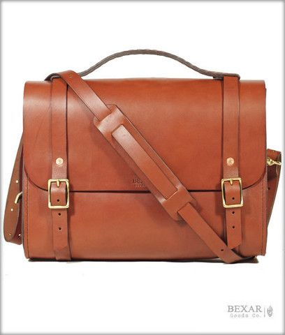 198014a6b1 A leather satchel designed for use across the spectrum of living an  adventurous life. This particular bag is a personal favorite of Guy s. As a  field geol