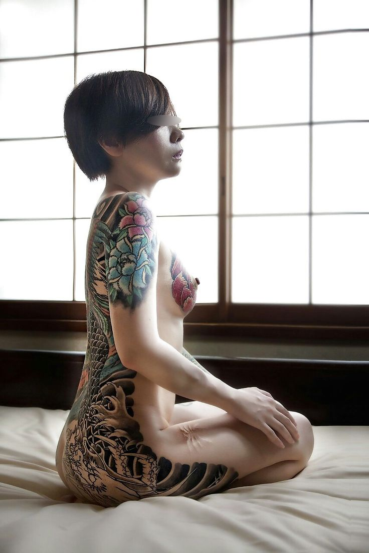 Tattooed chinese hot girls naked