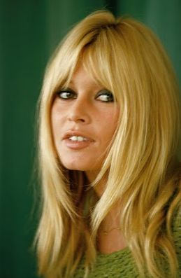 palm trees to portland: Brigitte Bardot= best hair ever.
