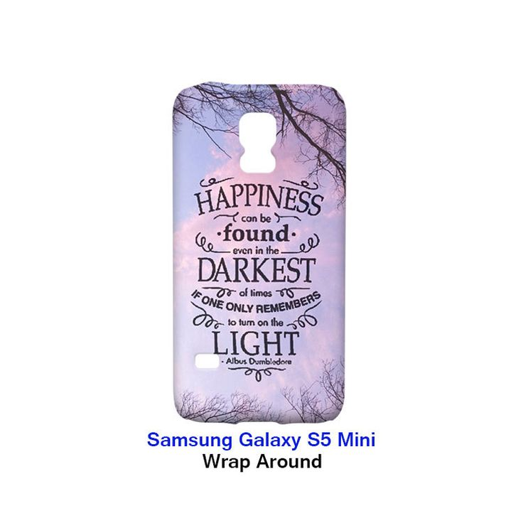 Happiness Harry Potter Samsung Galaxy S5 Mini Case