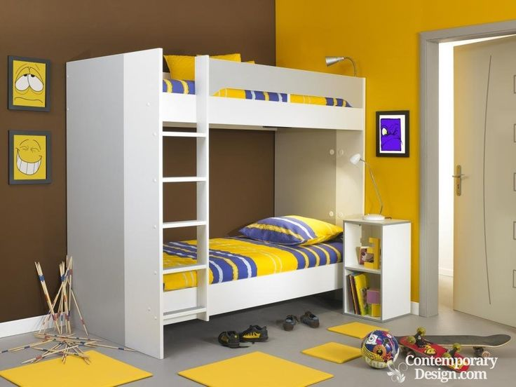 17 Best Ideas About Double Deck Bed On Pinterest White