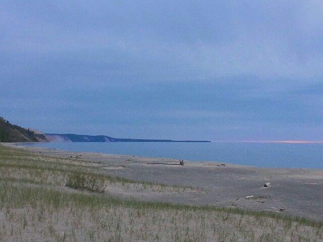 Lake Superior shoreline, Upper Peninsula Michigan