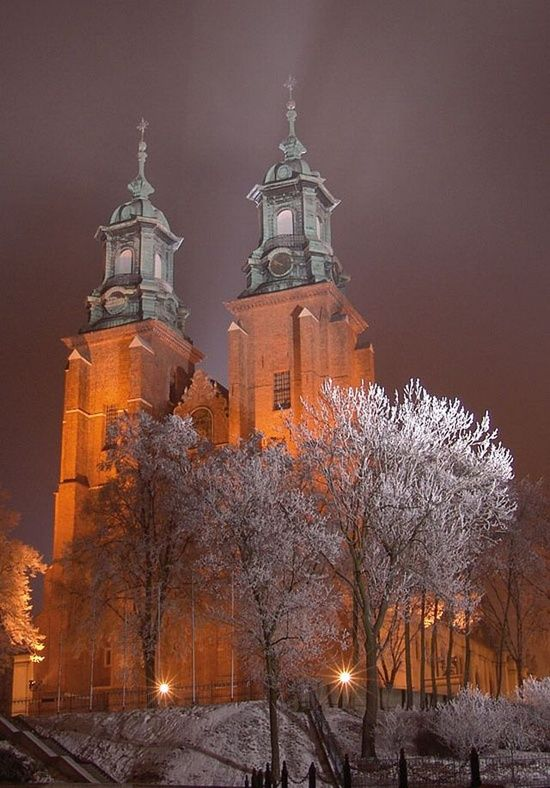 The Cathedral at Gniezno in Poland, one of the first Christian churches built to celebrate the conversion of Poland to Christianity in 994. Its Roman Catholic archbishop, the Archbishop of Gniezno, is the Primate of Poland. These historical facts make its position in Polish history similar to Canterbury or Rheims.