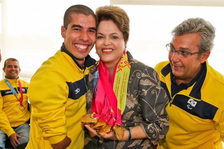Olimpíadas 2012: Dilma destaca importância do Bolsa Atleta para esportistas brasileiros