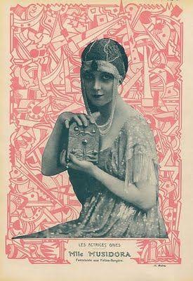 Musidora in magazine Fantasio (c.1912)