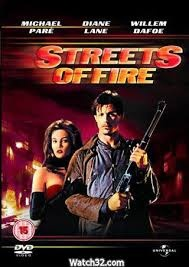 Michael Pare & Diane Lane movie Streets Of Fire