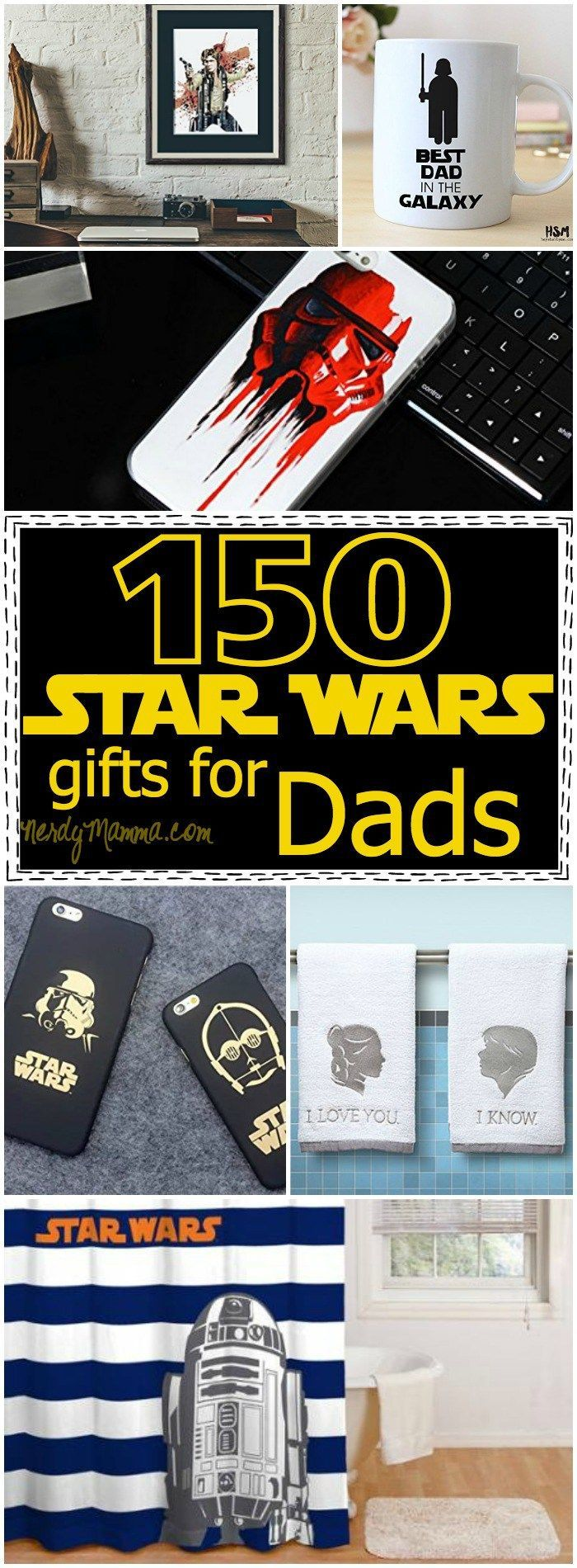 Charming Gifts With Photos On Them Part - 14: 150+ Star Wars Gifts For Dad - Luke, He Is Your Father, After All