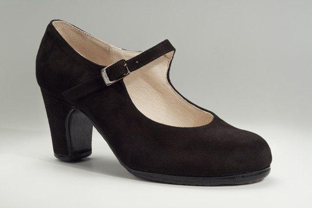 MENKES Academico Amaya Ante παπούτσια Flamenco