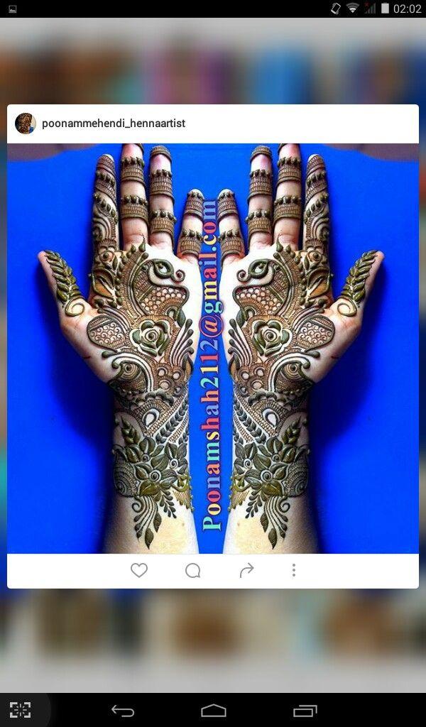 Gorgeous henna.