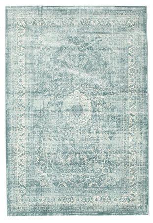 Jacinda - Turkos / Grön matta 160x230