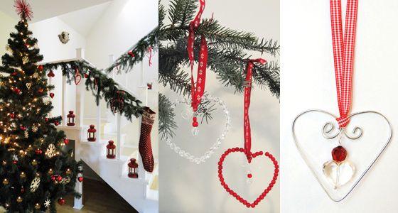 Scandinavian decoration for Christmass