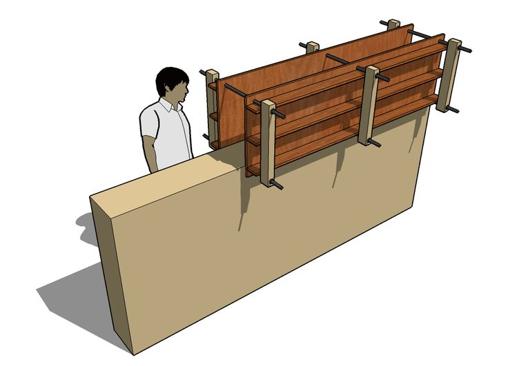 rammed earth house moveable form - Google Search