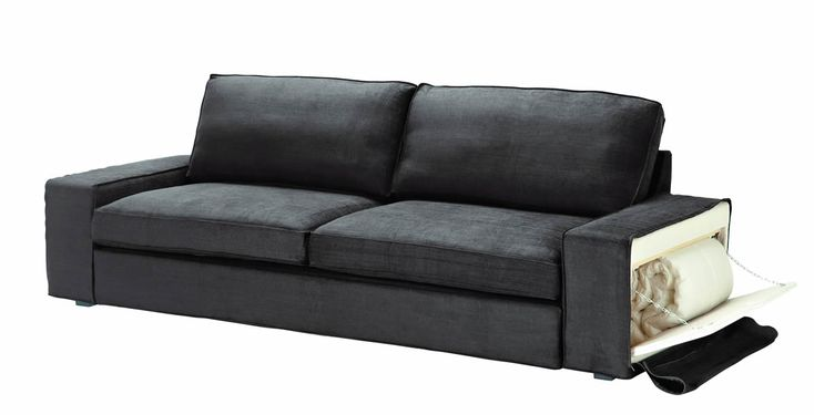 Ikea kivik modular sectional sofa living room furniture for Divano letto due posti ikea
