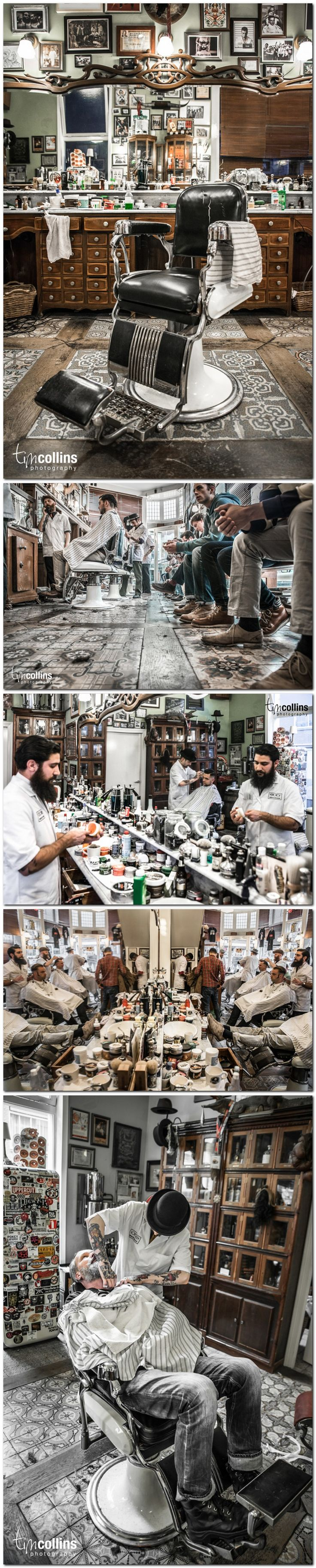 Schorem Barber Shop - Enjoy a good shave at this old school New York style barber shop, located in Hotel New York -★-