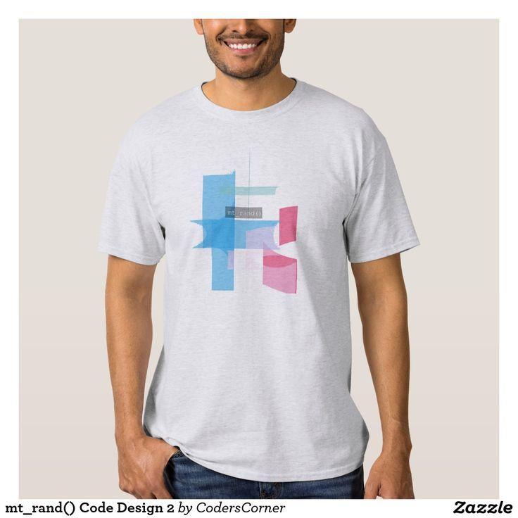 mt_rand() Code Design 2 Tee Shirt