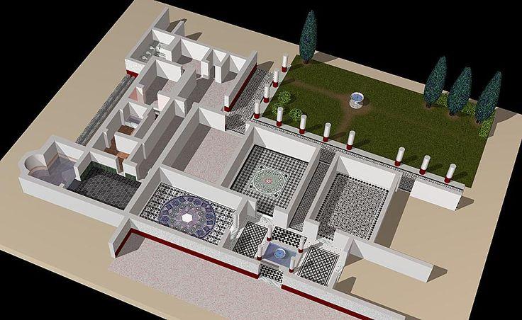 Visite Virtuelle De La Villa Romaine De Torre Llauder