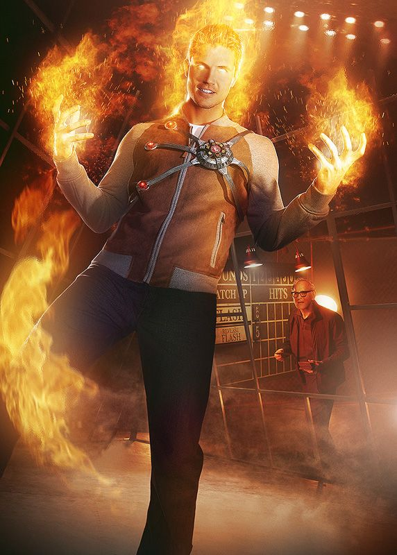 I can't help but loving the FIRESTORM!!! #theFLASH