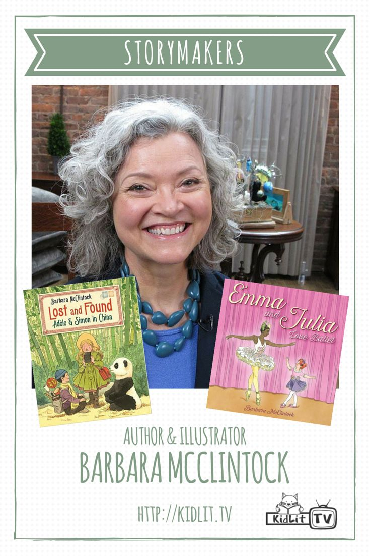 Watch StoryMakers with host Rocco Staino and author Barbara McClintock discuss her inspiration, illustrations, and latest books. As Rocco is a scholar of life, he jumped at the chance to learn a few beginner ballet moves too!