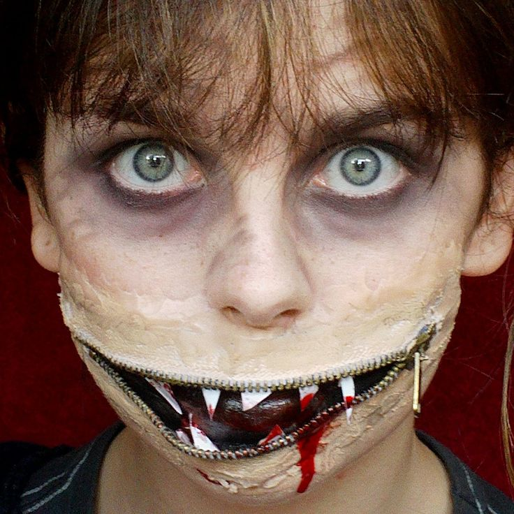 24 best Creepy Halloween Makeup images on Pinterest | Creepy ...