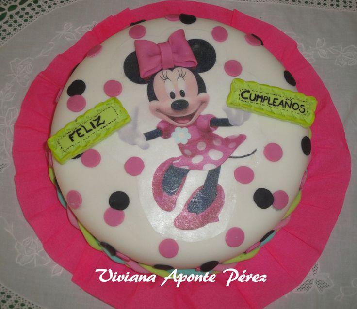 Baby Shower Cakes Katy Tx ~ Torta de minnie tortas decoradas pinterest