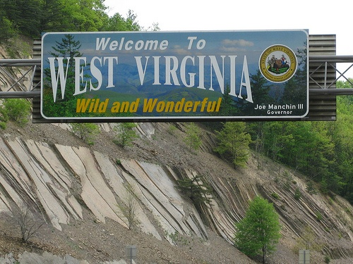 West Virginia is a pretty state, it was on our drive out West: Country Roads, Westvirginia, West Virginia, Oldies But Goodies, Roads Signs, States Signs, Mountain Momma, Places, Wonder West