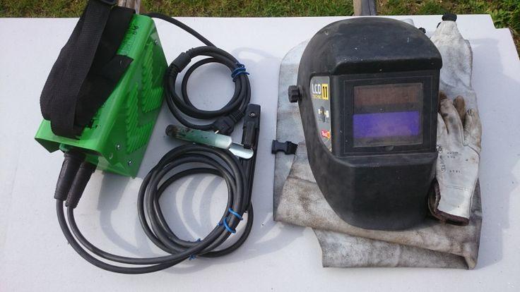 location poste à souder à l'arc inverter 3200 avec masque, tablier et gants de soudage.électrode de 1.6mm à 3.2mm, facile d'utilisation, idéal pour novice.électrode sur demande en sus