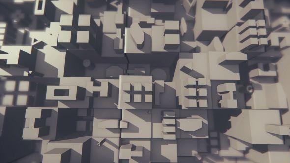 3D Architecture Background