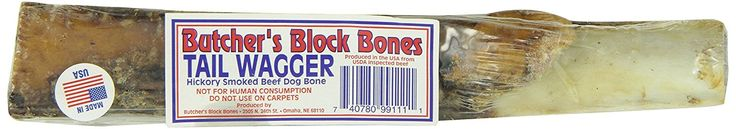 Butcher's Block Bones Tailwagger Beef Rib Bone, 8 to 10-Inch ^^ Find out more details by clicking the image : Dog treats