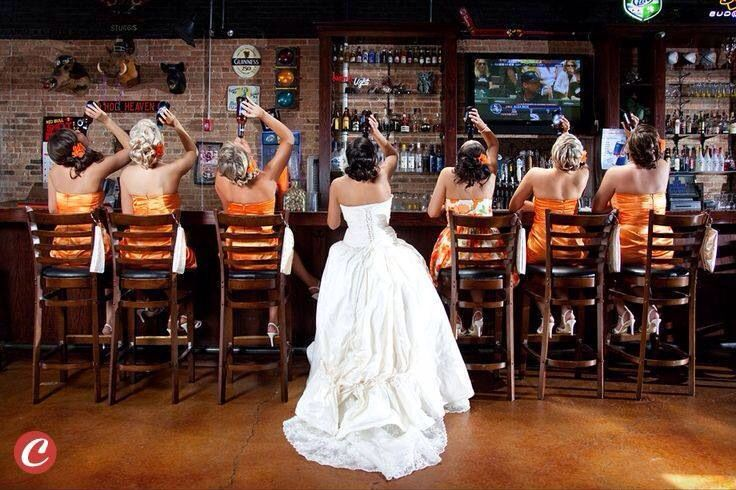 I'm doing this with my bridesmaids lol !!!