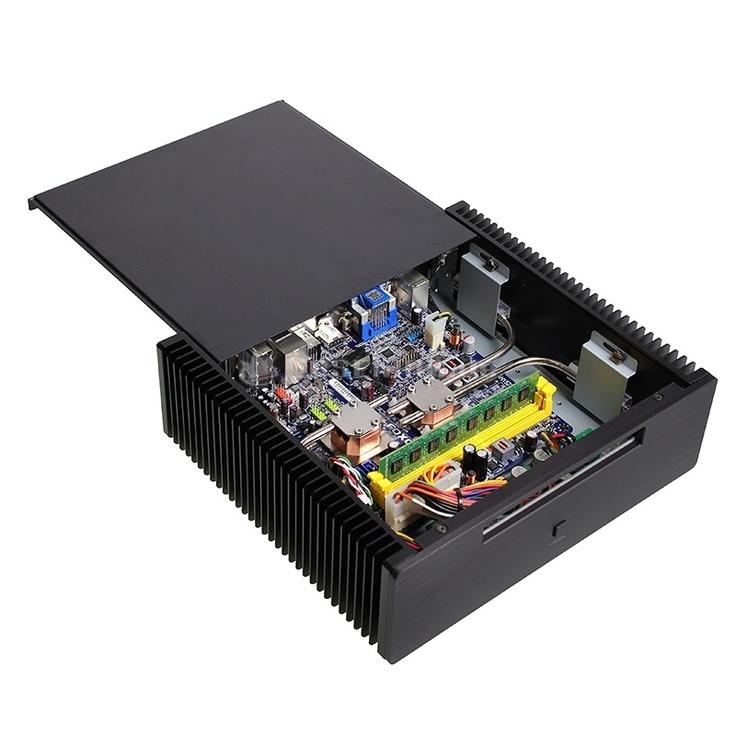 King Mod No Noise HTPC Foxconn AMD APU, E350