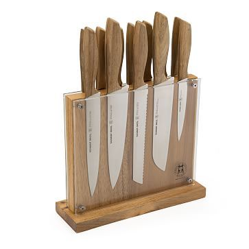 schmidt bros 13 piece set natural - Knife Storage