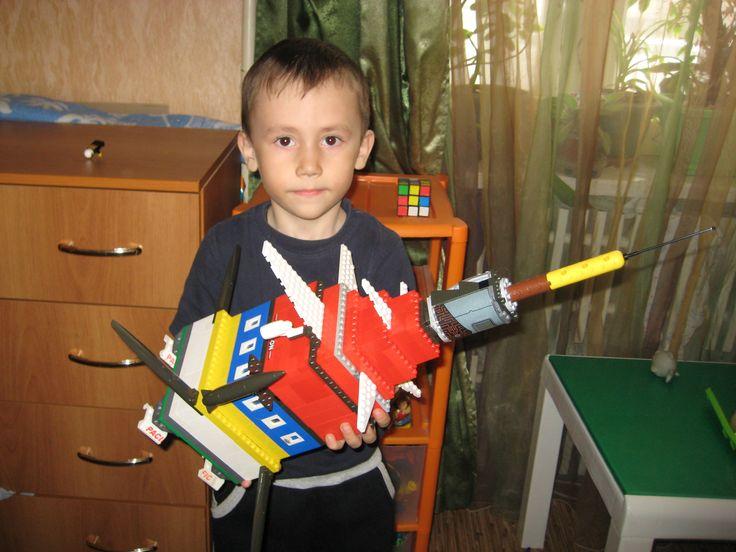 """Экскурсионная ракета Сорокина Артема 5 лет. """"Поехали"""""""