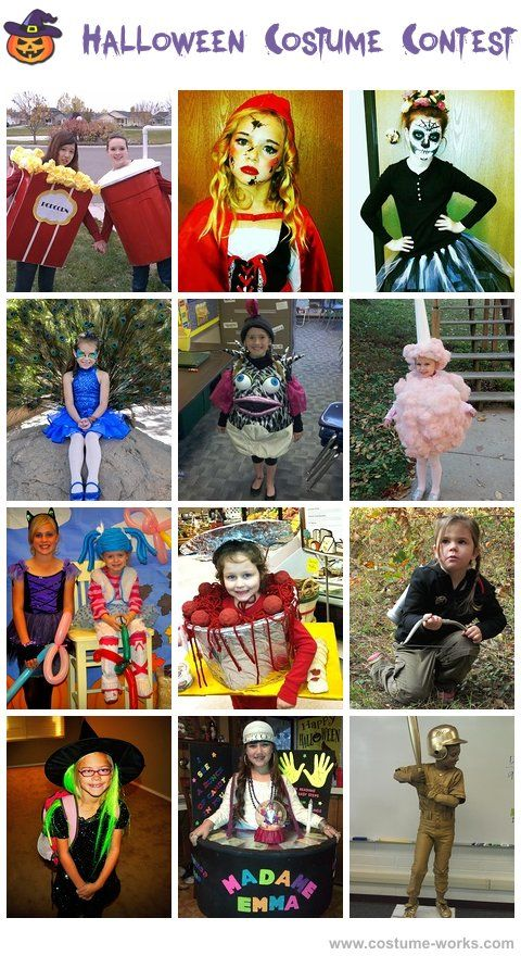DIY Halloween Costumes for Girls - this website has tons of costume ideas!