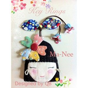 678 best Cute key rings images on Pinterest | Key fobs, Keychains ... : key cover quilt - Adamdwight.com