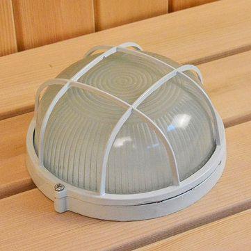 Round Explosion Proof Vapor-proof Sauna Steam Room Light Lampshade Guard Accessory