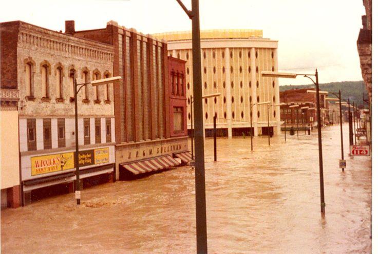 Flood of 1972, Elmira, NY | Upstate New Yorker | Pinterest ...