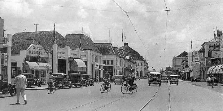 Jalan Toendjoengan circa 1930