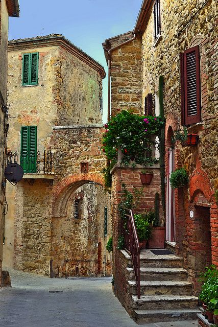 Antiga Arch, Toscana, Itália