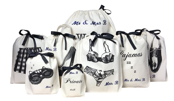 Personalized Honeymoon Kit 8-pack